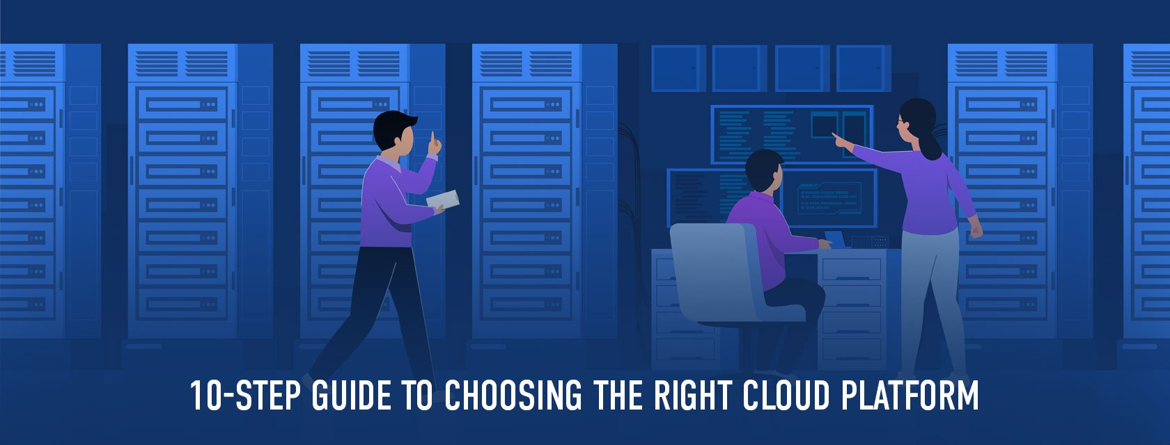 10 things to consider while choosing a cloud platform