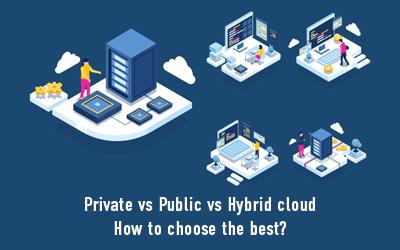 Private Vs. Public Vs. Hybrid Cloud: How to Choose the Best?